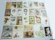 30 Vintage Holiday Postcards New Years 1900s 1910s