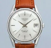 Longines Conquest Twist Rug Original Dial Automatic Vintage Watch 1960and039s