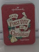 First Day Of Christmas Hallmark My True Love Song Partridge In Tree Card Game