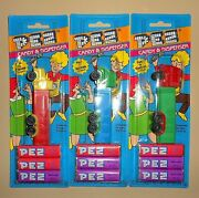 Pez Dispensers Trucks - New In Package - Lot Of 3