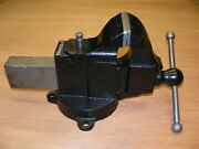 Rare Prentiss 47 Swivel Jaw/base Vise 4.25 Jaw Opens 7 Vintage Early 1900and039s