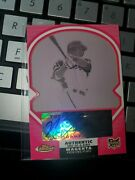 2006 Topps Finest Nelson Cruz Autographed Printing Plate 1/1 Rookie