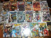 Justice League Comic Lot Jla Year One Haven Justice Society 1s Flash Batman