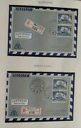 Greenland Town Cancel Covers 2 Albums 144 Diff Covers W/first Day Postmark