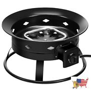 Fire Pits 58000btu Firebowl Outdoor Portable Propane Gas Fire Pit With Cover