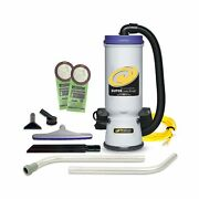 Proteam Commercial Backpack Vacuum, Super Coachvac Vacuum Backpack With Hepa ...