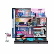 Lol Surprise Omg House – New Real Wood Doll House With 85+ Surprises   3 Stor...