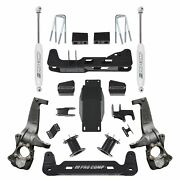 Pro Comp K1175b 6and039and039 Full Suspension Lift Kit W/ Es9000 Shocks For 19-20 Gm 1500