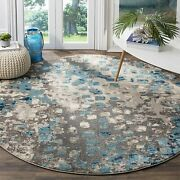 Safavieh Monaco Collection Mnc225e Modern Boho Abstract Watercolor Area Rug 5and039
