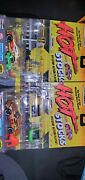 Matchbox Hot Stocks Pit Stop Action Playset Lot Of 4 Unopened Cars W Accessories