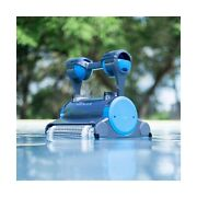 Dolphin Premier Robotic Pool Cleaner With Powerful Dual Scrubbing Brushes And...
