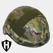 Level Iiia Ballistic Helmet Fast Style Made With Kevlar - Lab Tested And Video