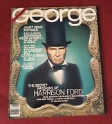 Jfk George Abe Lincoln/harrison Ford George Cover Collectible,very Good