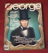 Jfk George Abe Lincoln/harrison Ford George Cover Collectiblevery Goodandnbsp