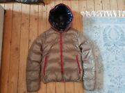 Duvetica Shiny Brown Down Puffer Jacket Coat Size 38