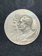 1902 Wilhelm Ii And Auguste Victoria Silver Medal Kaisertage September 1902