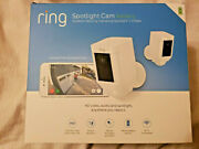 New Ring Spotlight Hd Security Battery Camera Two-way Audio Siren Alarm - 2 Pack