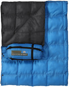 Usgi Industries Military Style Camping Shield Blanket Arctic Blue