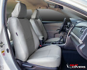 Custom Leatherette Front Seat Covers For The 2009-2012 Dodge Ram Buckets Only
