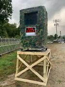Handr Industries Thermosafe Hunting Blind Ice Insolated Shipping Crate Modelhr54p