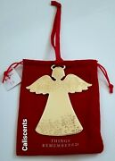 Christmas Angel Ornament Things Remembered New With Dust Cover
