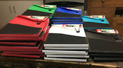 Lot Of 25 Andldquomead 3 Tabs Filer For Notebook And Binder. 6 Colors.