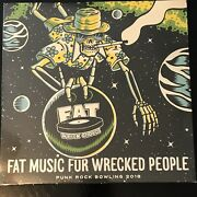 Fat Music For Wrecked People Punk Rock Bowling 2018 Vinyl Punk Rock Nofx