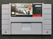 Newman Haas Indycar Featuring Nigel Mansell Super Nintendo Snes Cart Only