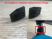 Set Of Two Logitech G332,g430,g432,g930,f540 Headset Hinge Replacement Part Fix