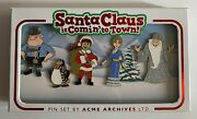 Acme Archive Santa Claus Is Coming To Town Le 150 Jumbo Pin Set. Disney Licensed