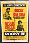 Rocky Ii - 2 Original Movie Poster Boxing Promo - Stallone Hollywood Posters