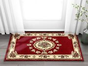 Well Woven Timeless Le Petit Palais Red Traditional Area Rug 2and0393 X 3and03911