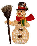 3 Ft Outdoor Christmas Snowman Yard Decor Led Lights Holiday Frosty Merry Xmas