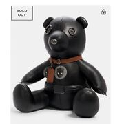 Nwt Coach Marvel Black Panther Leather Collectible Bear