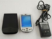 Hp Ipaq Rx1900 Series Rx1955 Pocket Pc Pda Handheld Fa629aaba With Accessories