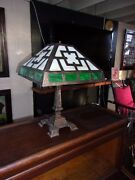 Antique Stained Glass Lamp-selling Out