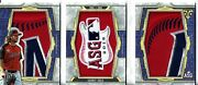 Gerrit Cole 2020 Triple Threads All Star Game Jumbo Patch Logo Booklet Ed 1/1