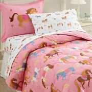 Wildkin Kids 7 Pc Full Bed In A Bag For Boys And Girls Microfiber Bedding Set I