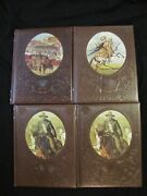 Time Life Books The Old West Lot Of 4 - Gunfighters 2- Great Chiefs - Townsmen