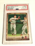 2015 Topps Update Mike Trout Throwback 300 Gem Mint Psa 10 Very Rare Hard Find