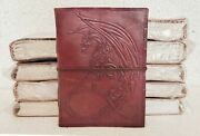 Leather Journal Handmade Vintage Design Diary Blank Notebook Notepad Lot Of 10