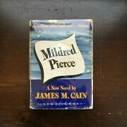 James M. Cain - Mildred Pierce Knopf 1941 Signed And Inscribed Film Noir Source