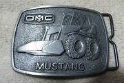 Omc Company The Mustang Belt Buckle Skid Steer Tractor Heavy Machinery
