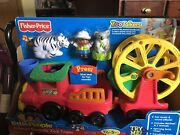 Fisher Price Little People Zoo Talkers Animal Sounds Zoo Train New 2012 Works