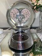 """Things Remembered """"say It With Love Musical Water Snow Globe Dome"""