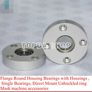 Flange Round Housing Bearings Direct Mount Unbuckled Mask Machine Accessories
