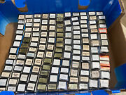 Lot Of 140 Car And Tune Up Parts Condensers Points Temp Senders Contact Sets Nos