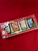 A Christmas Story Ralphie 4-pack Pint Glass 16oz Holiday Xmas Collectorand039s Series