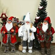 Christmas Decorations 2021 New Yearand039s Gift Santa Claus 90cm Large Doll High Grad