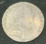 1787 Great Britain George Iii Silver Shilling
